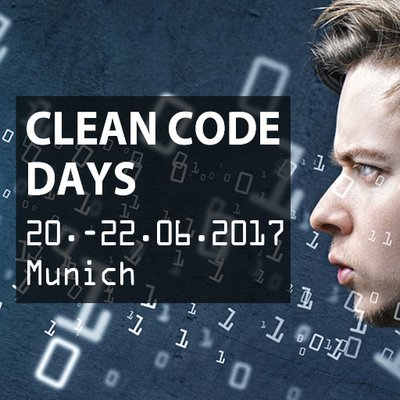 Talk 'Cleaner Code With Kotlin' at the Clean Code Days 2017 in Munich