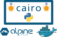 Install Cairo and CairoSVG on an Alpine Docker Image