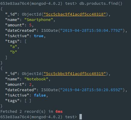 使用Mongo-Hacker进行语法着色,格式化和计时。
